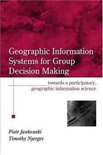 NEW - GIS for Group Decision Making (Research Monographs in GIS)