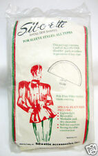 Vintage Pair Shoulder Pads For All Sleeve Types Sil-O-Ette Accessories USA NIP