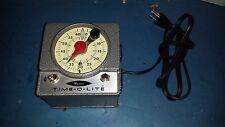 Vintage MASTER TIME-O-LITE Industrial Timer Darkroom Photography Equipment M72
