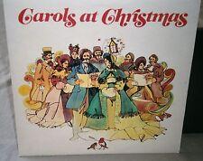 THE CHOIR OF ST PAULS CATHEDRAL LONDON CAROLS AT CHRISTMAS RDS 8041 VINYL LP