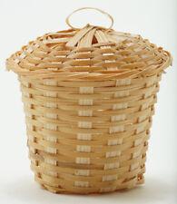 Miniature Dollhouse Laundry Basket 1:12 Scale New im66008