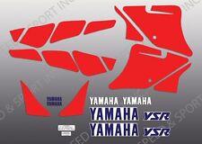 YAMAHA 1987 1988 1989 87 88 89 YSR50 YSR 50 TANK DECAL GRAPHIC SET White Model