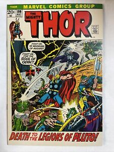 Thor 199 Rock Solid 9.8 Not CGC or CBCS Graded   Been in Attic Since Newsstand