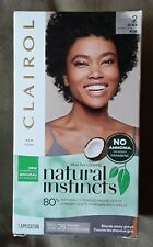Clairol Natural Instincts Semi-Permanent Hair Color,  #2 Midnight Black
