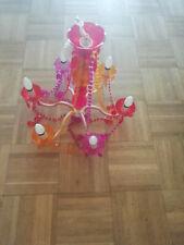 Lustre Incidence Plexiglas Verre Plastique Tendance Baroque Elégant Décoration