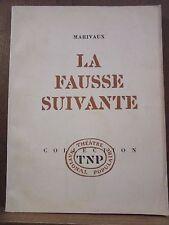 Marivaux: La Fausse Suivante/ Théâtre National Populaire, 1964