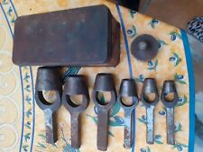 Vintage Set of Leather Punches