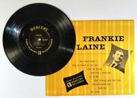 """Frankie Laine 10"""" LP 1950  Mercury – MG 25025 Vinyl w/ Flap Pop Vocal"""