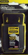 Stanley 11-921A Blade Dispenser w/ 100 Utility Knife Blades !!SHIP DISCOUNT!!
