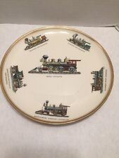 Taylor Smith Taylor Locomotive Plate Trains Versatile Vintage Collectible