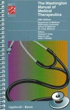 The Washington Manual of Medical Therapeutics (Spiral Manual Series) Washington