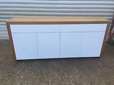 Local Made Tassie Oak Hardwood Timber Fairmont Buffet Sideboard Push To Open
