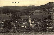 Wœrth Wörth an Sauer France Elsass ~1920/30 Dorfansicht Verlag Levy ungelaufen