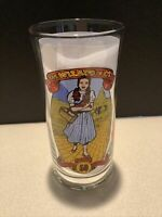 WIZARD of OZ 1989 Coca Cola 50th Anniversary Series  Dorothy Collectible Glass