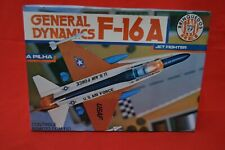 RARE Vintage Brazil Battery Operated General Dynamics F-16A Plane Complete