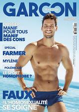 """Garçon Magazine - Faux """"L'homo [...] soigne"""" - Numéro 24 - Novembre/Décembre 19"""