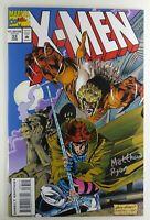 Marvel X-MEN (1994) #33 SIGNED by Matthew RYAN w/COA NM (9.4) Ships FREE