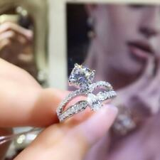 1.50 Ct VVS1 Cushion Cut Diamond Engagement Wedding Ring White Gold Finish Ring