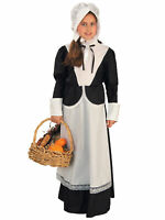 Pilgrim Colonial Olden Day Pioneer Victorian Book Week Girls Costume