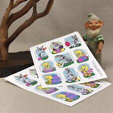 Looney Tunes Stickers EASTER Vintage 1995 Hallmark Tweety Bugs Bunny Warner Bros