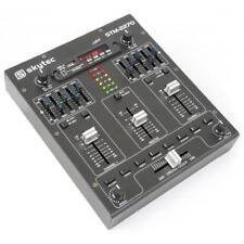 Skytec DJ Mixer 4 Kanal Mischpult Equalizer Studio