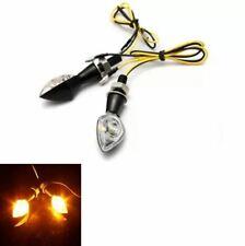 Mini 2pcs Power LED Turn Indicator Signal Blinker Lights Bulb for Motorcycle 12V