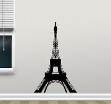 12* Paris Eiffel Tower Acrylic Mirror Wall DIY Sticker Removable Deco#hxxb