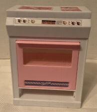 Mattel Barbie Doll Stove Oven Vtg 1992