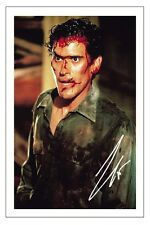 BRUCE CAMPBELL EVIL DEAD SIGNED AUTOGRAPH PHOTO PRINT POSTER