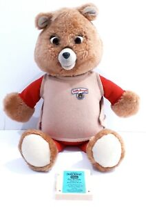 Teddy ruxpin bear with tape airship story 1992 please read eyes mouth dont work