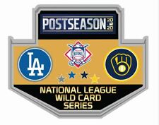 2020 WILD CARD DUELING PIN MILWAUKEE BREWERS L.A. DODGERS BASEBALL WORLD SERIES