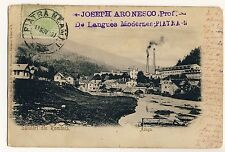 Rumänien AZUGA Krs Prahova Walachei Romania / Industry * Vintage 1900s PC