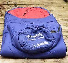 AJUNGILAK NORWAY TELEMARK THERMO 190CM ALL SEASON BLUE SLEEPING BAG