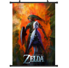 Game The Legend of Zelda no Densetsu Skyward Wall Poster Scroll Cosplay 2888