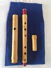 Casey Burns Wooden Flute D