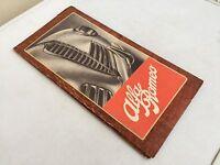 Automobile club d'Italia ITINERARI STRADALI 1949 mappe informazioni Alfa Romeo