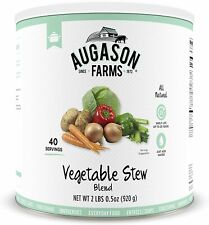 Augason Farms Vegetable Stew Blend 2 lbs 0.5 oz No. 10 Can PREPPER FOOD STORAGE