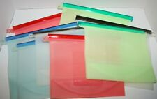 Reusable Silicone Food Storage Bags Containers 8pc 4 4-Cup 4 6-Cup *No Packaging