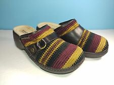 Skechers Cordaroy Slip On Clogs Mules Shoes Womens Size 8