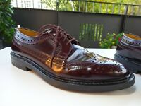 LLOYD LARSON Herren Business Budapester Schuhe Leder Germany Gr.40,5(7) TOP