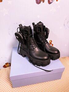 Prada Monolith Boots 40