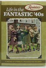 Life in the Fantastic 40s 1940s Reminisce book WWII Birthday Nostalgia Hardcover