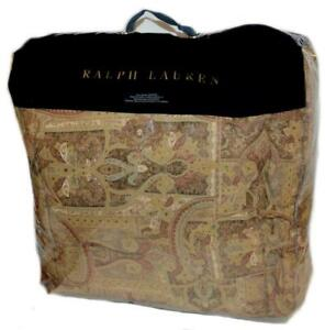 RALPH LAUREN Bellosguardo Paisley FULL/ QUEEN COMFORTER NEW 1ST QUALITY $400