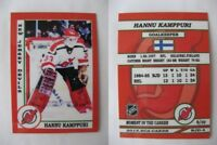 2015 SCA Hannu Kamppuri New Jersey Devils goalie never issued produced #d/10