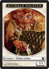 5x TOKEN Soldato Kithkin - Kithkin Soldier 1/1 MTG MAGIC MM Modern Masters Eng