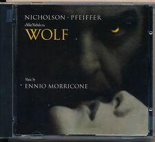Wolf soundtrack cd Nicholson - Pfeiffer promo