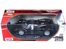MOTORMAX 79159 PAGANI ZONDA F 1/18 DIECAST BLACK