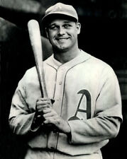 Philadelphia Athletics JIMMIE FOXX Glossy 8x10 Photo Reprint Baseball Poster
