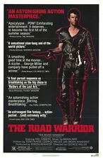 """MAD MAX 2 ROAD WARRIOR 1981 Original Ver B SS 27x41"""" US One Sheet Movie Poster"""