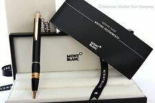 MontBlanc 105653 Starwalker- Red Gold & Black Resin- Ballpoint Pen - NEW IN BOX!